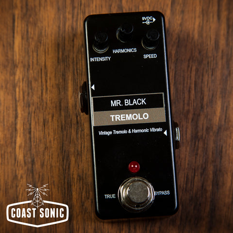 Mr. Black Mini Tremolo