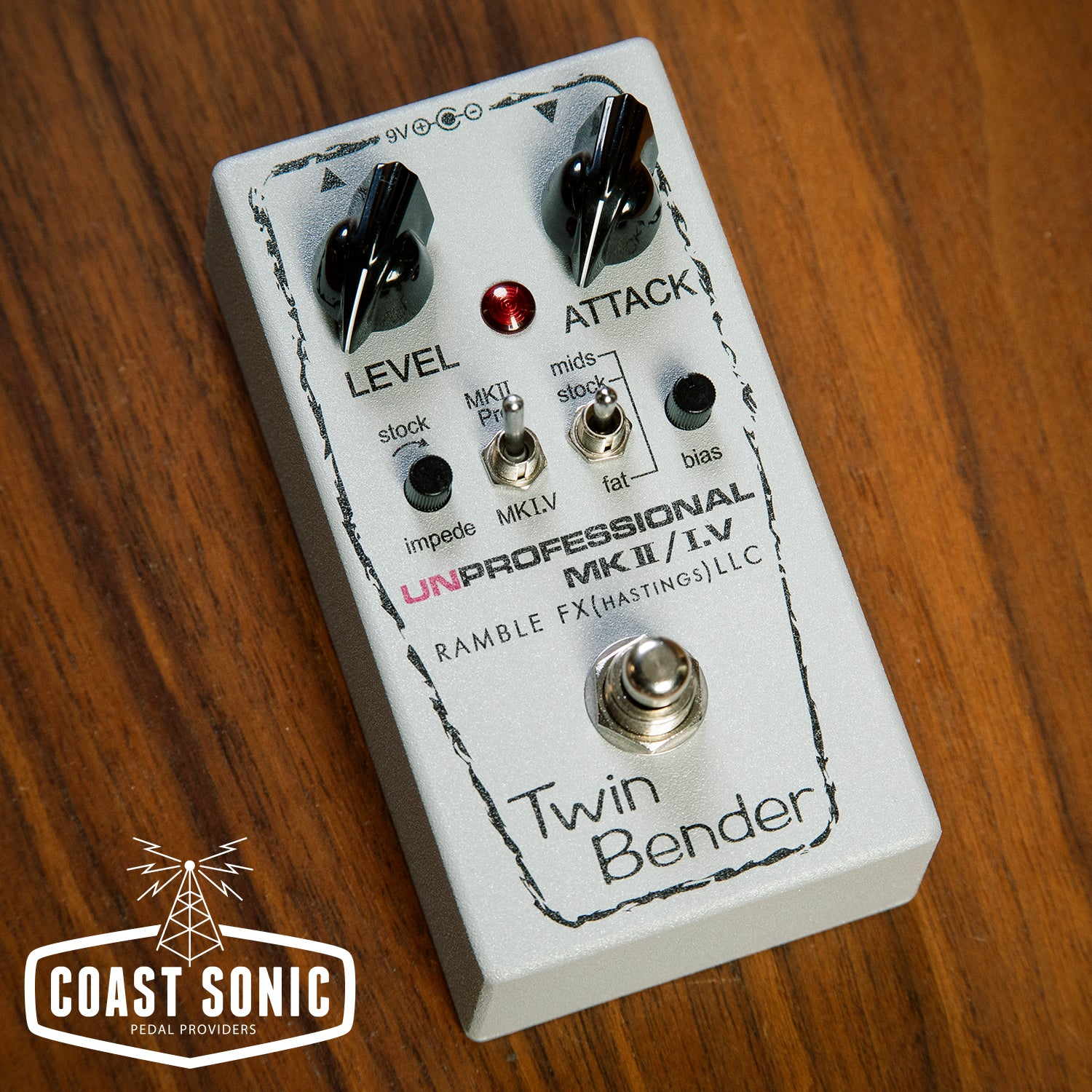 Twin Bender by Ramble FX    Based on two of the great Sola Sound Tone Benders