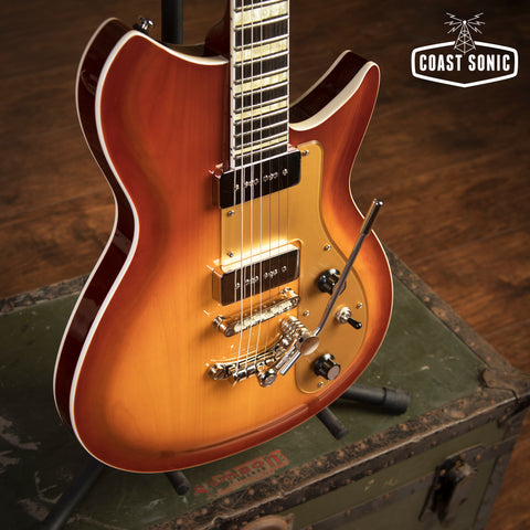 "Rivolta Guitars Combinata XVII ""Autunno Burst"""