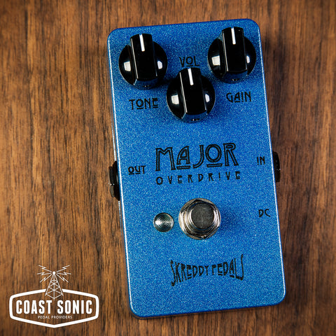 Skreddy Pedals Major overdrive