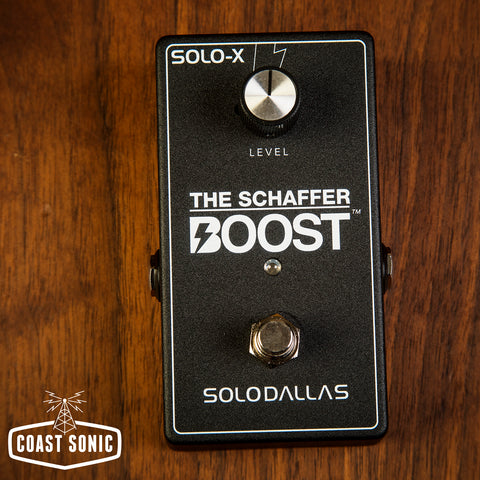 SoloDallas The Schaffer Boost Solo-X