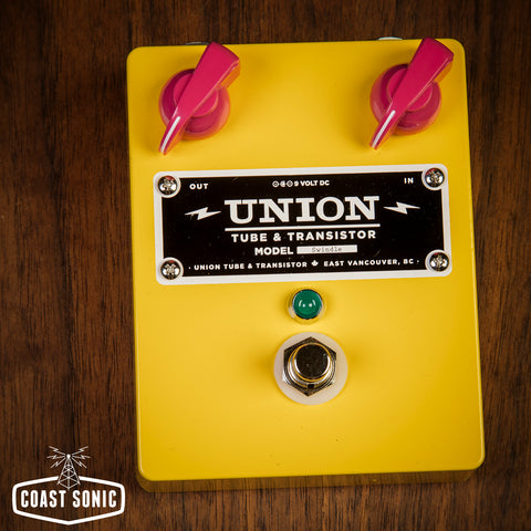 Union Tube & Transistor Swindle Distortion *beancounter edition