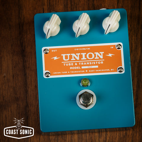 Union Tube & Transistor Snap Treble Booster *beancounter edition