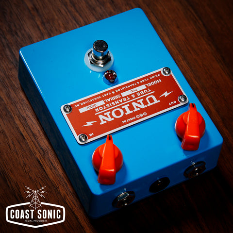 Union Tube & Transistor Pop Treble Booster