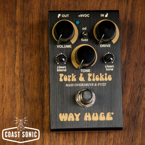 Way Huge Smalls Pork & Pickle Bass Overdrive / Fuzz Mini