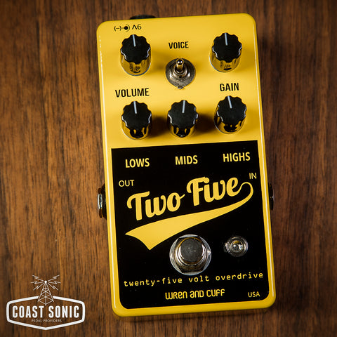 Wren and Cuff Two-Five 25 volt Overdrive