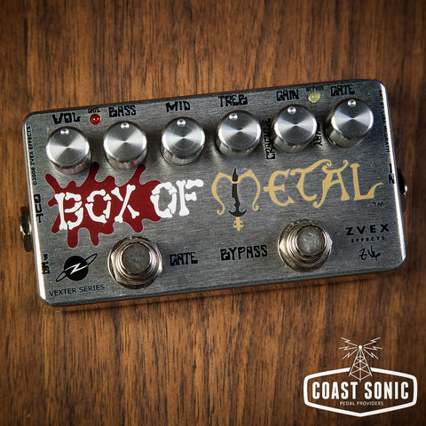 Zvex Effects Box Of Metal Vexter Series