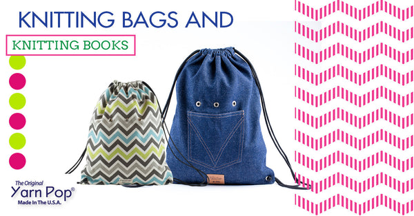 Knitting Bags and Knitting Books