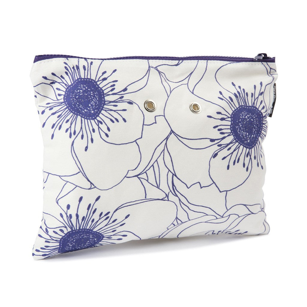 Duo™ Knitting Bag - White Anemones