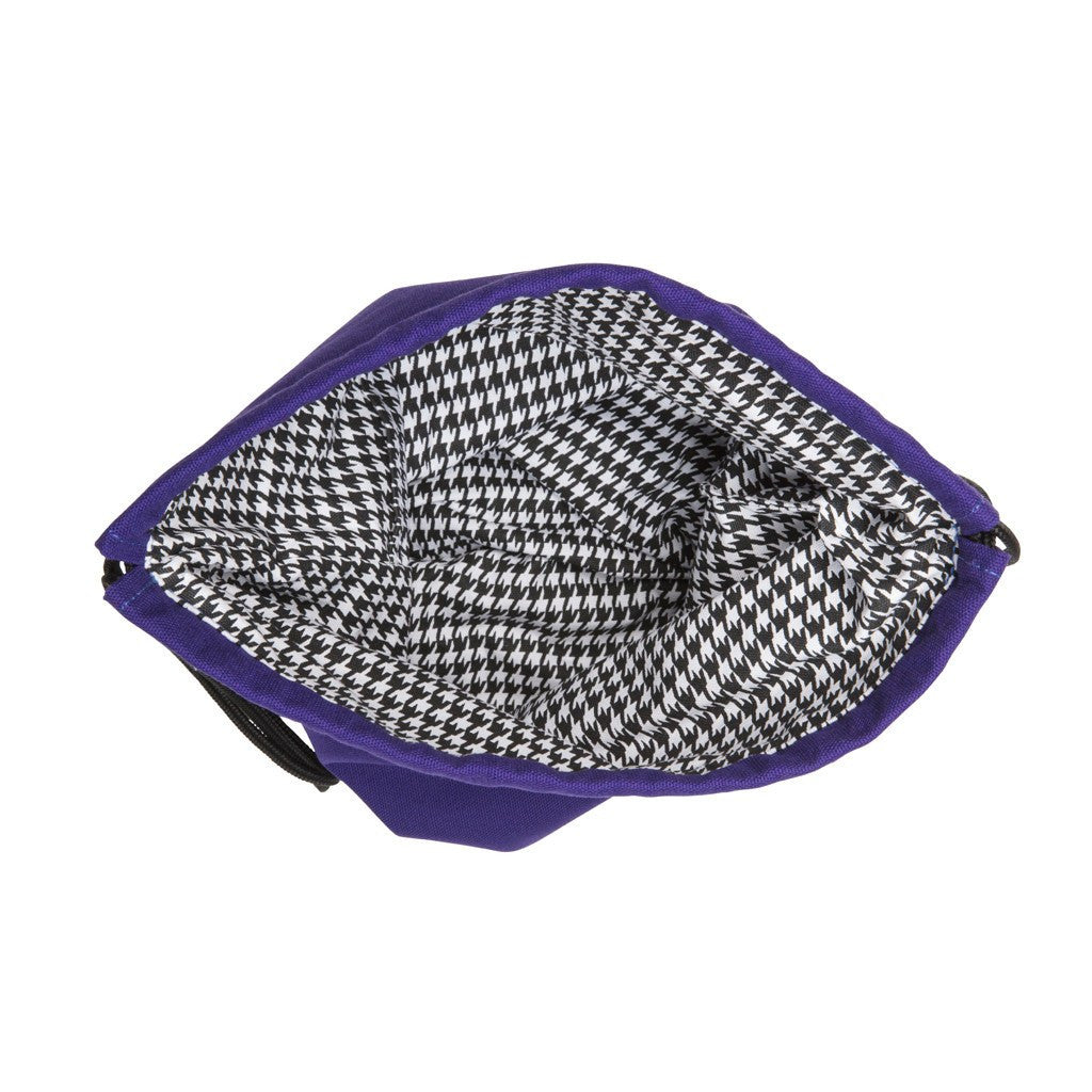 Trekker Knitting Bag - PURPLE+BLU