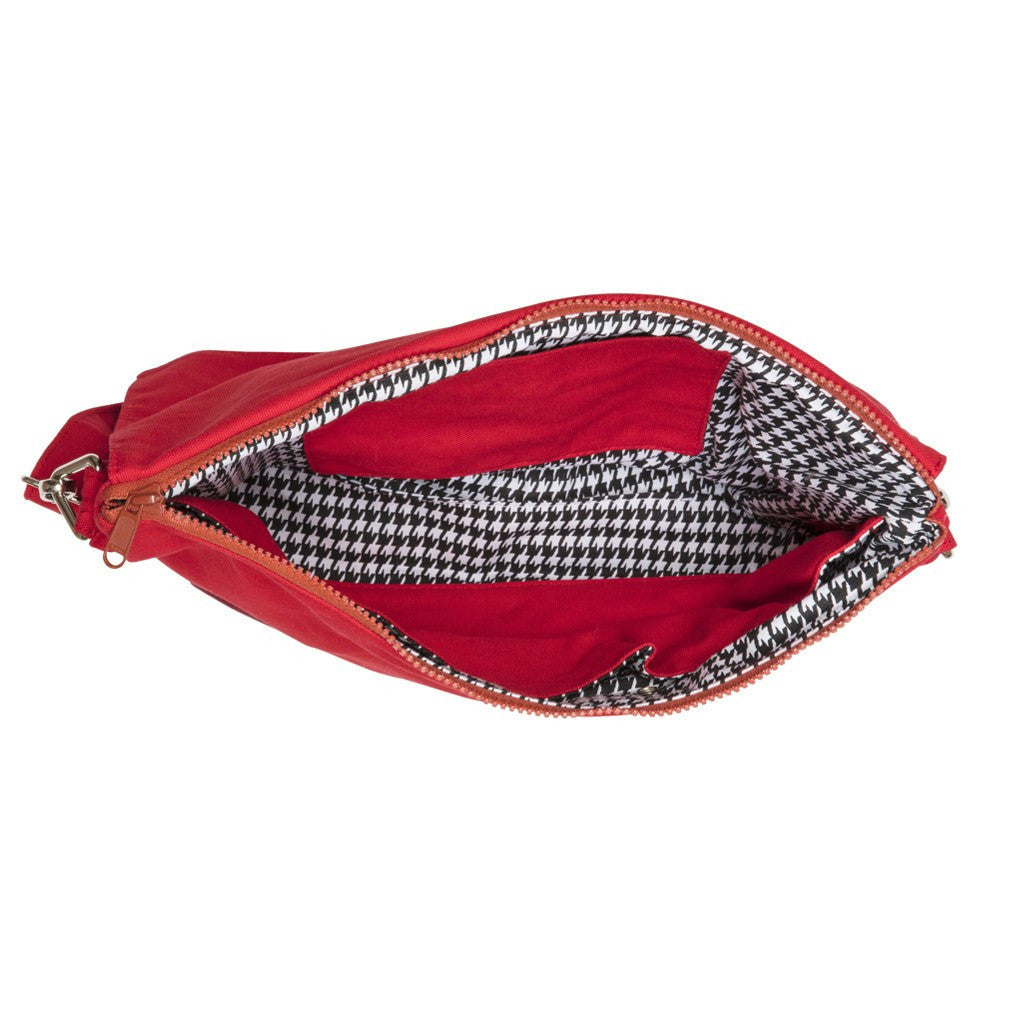 Clutchable Knitting Bag - RED+RED