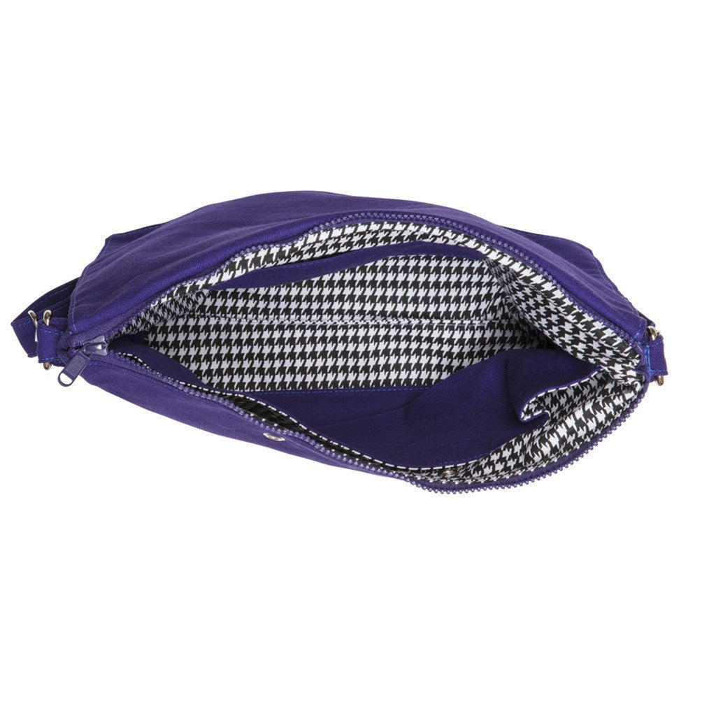 Clutchable Knitting Bag - PURPLE+BLU