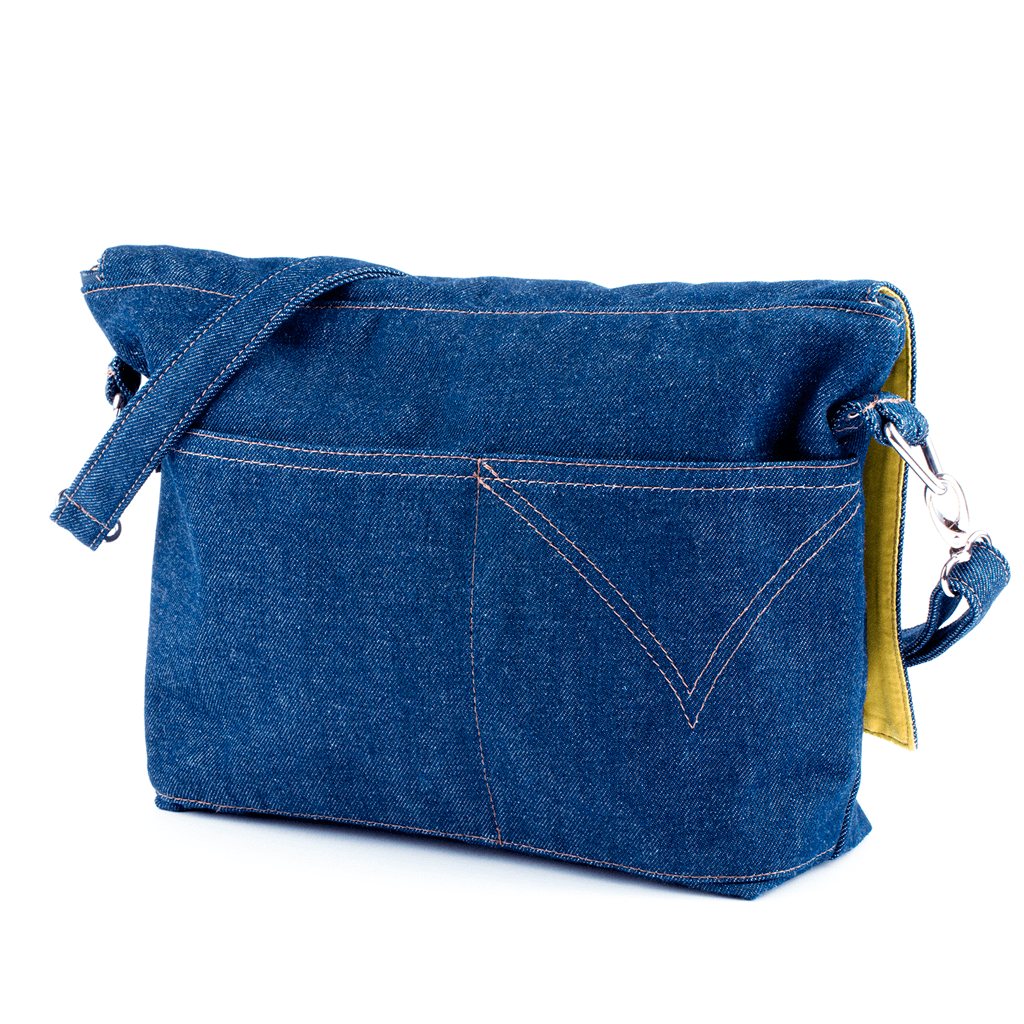 Yarn Pop - Clutchable™ Knitting Bag - Forever Denim