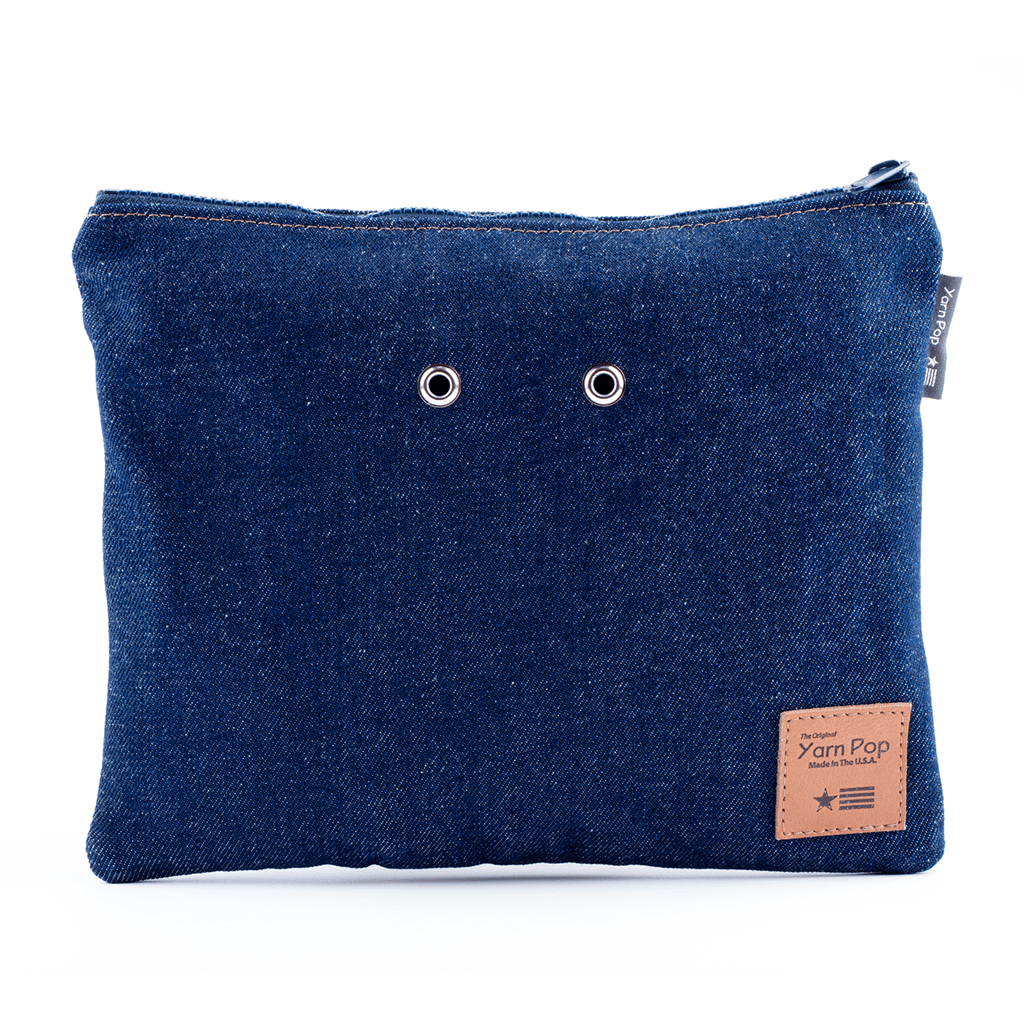Duo Knitting Bag - Forever Denim