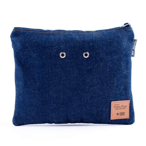 Yarn Pop - Double Knitting Bag - Forever Denim