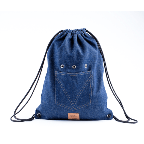 Yarn Pop - Trekker Knitting Bag - Forever Denim