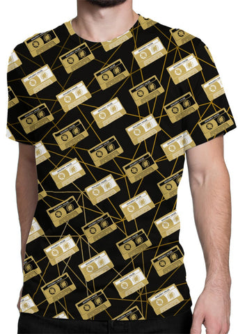 Cassette Party all-over print shirt main