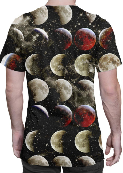 Blood Moon all-over print shirt