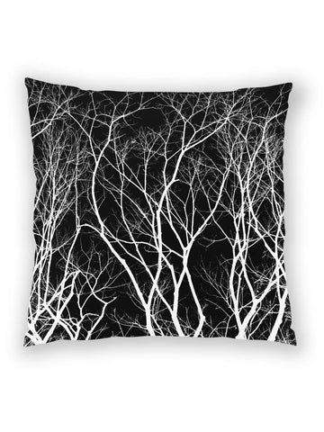 Haunted Forest black pillow