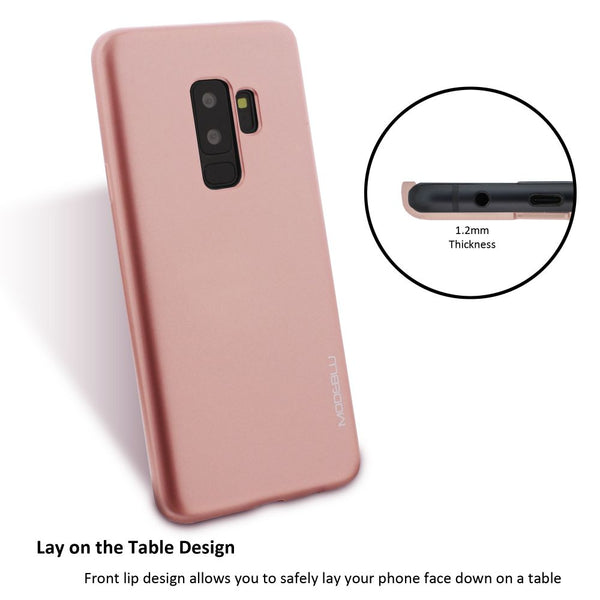 Galaxy S9 Plus Case M-Gel Metallic TPU Gel Series Cover - ModeBlu