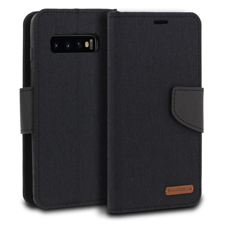 Galaxy S10 Plus Case Mode Diary Wallet Cover - ModeBlu