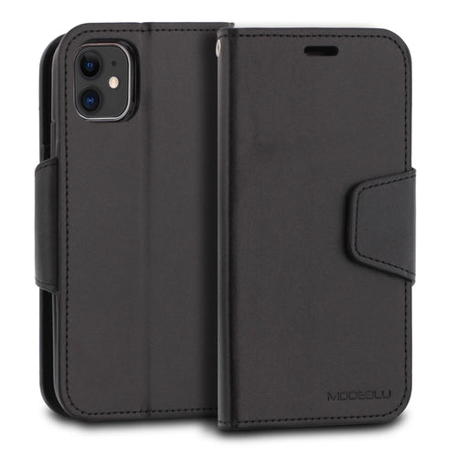 iPhone 11 Case Classic Diary Wallet Cover - ModeBlu