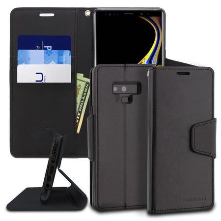 Galaxy Note 4 Case Classic Diary Wallet Cover - ModeBlu