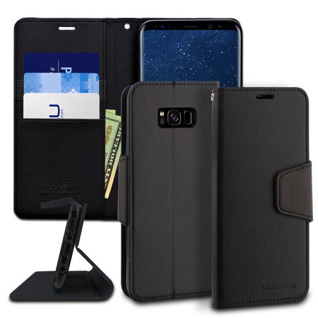 Galaxy S5 Case Classic Diary Wallet Cover - ModeBlu