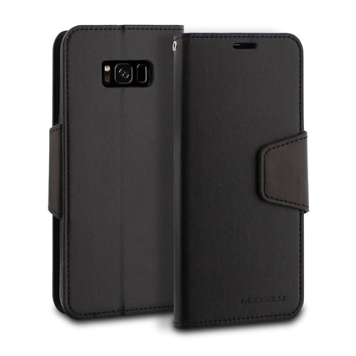 Galaxy S8 Case Classic Diary Wallet Cover - ModeBlu