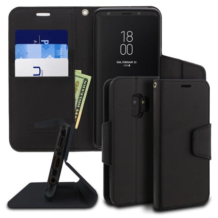 Galaxy S10 Plus Case Classic Diary Wallet Cover - ModeBlu
