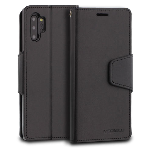 Galaxy Note 10 Plus Case Classic Diary Wallet Cover - ModeBlu