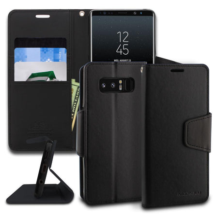Galaxy Note 5 Case Journal Case Series Wallet Cover - ModeBlu