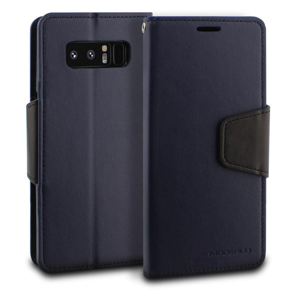 Galaxy Note 8 Case Classic Diary Wallet Cover - ModeBlu