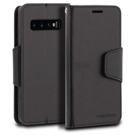 Galaxy S4 Case Classic Diary Wallet Cover - ModeBlu