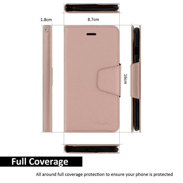 iPhone 6s Plus Case Classic Diary Wallet Cover - ModeBlu