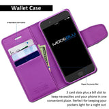 iPhone 7 Case Classic Diary Wallet Cover - ModeBlu
