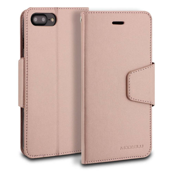 iPhone 7 Plus Case Classic Diary Wallet Cover - ModeBlu