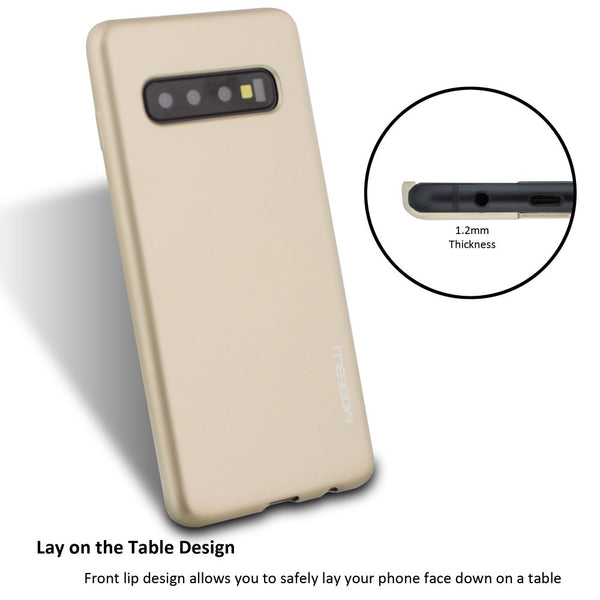 Galaxy S10 Case M-Gel Metallic TPU Gel Series Cover - ModeBlu