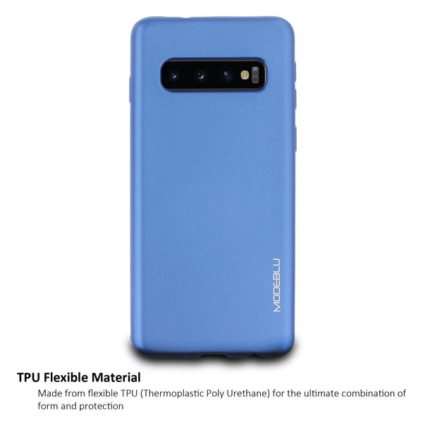 Galaxy S10 Plus Case M-Gel Metallic TPU Gel Series Cover - ModeBlu