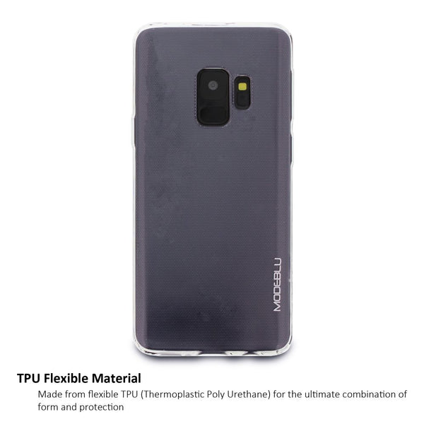 Galaxy S9 Case M-Gel Metallic TPU Gel Series Cover - ModeBlu