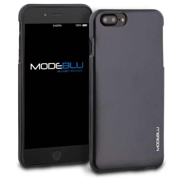 iPhone 7 Plus Case M-Gel Metallic TPU Gel Series Cover - ModeBlu