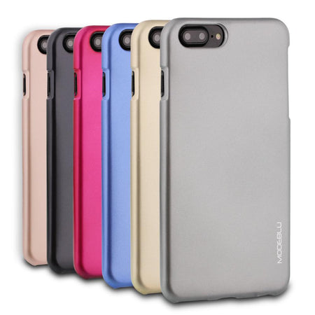 iPhone 8 Plus Case M-Gel Metallic TPU Gel Series Cover - ModeBlu