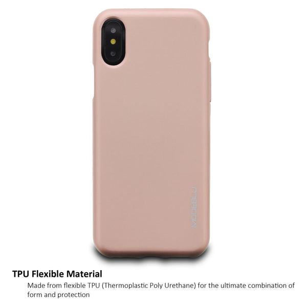 iPhone XS Max Case M-Gel Metallic TPU Gel Series Cover - ModeBlu