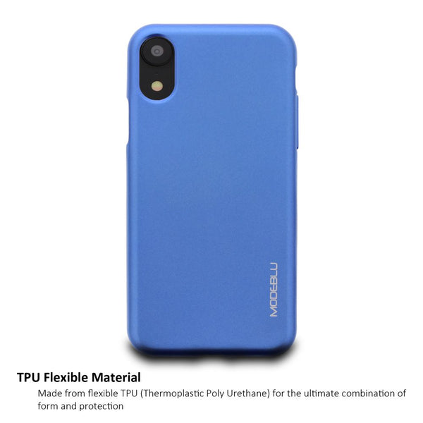 iPhone XR Case M-Gel Metallic TPU Gel Series Cover - ModeBlu
