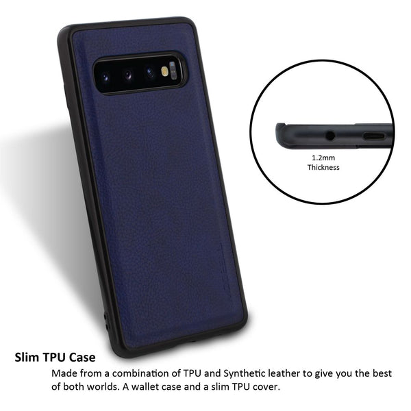 Galaxy S10 Plus Case Magnetic Portfolio Series Wallet - ModeBlu