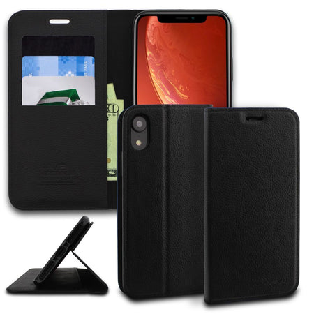 iPhone XR Case Classic Diary Wallet Cover - ModeBlu