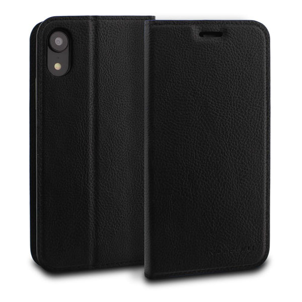 iPhone XR Case Magnetic Portfolio Series Wallet - ModeBlu