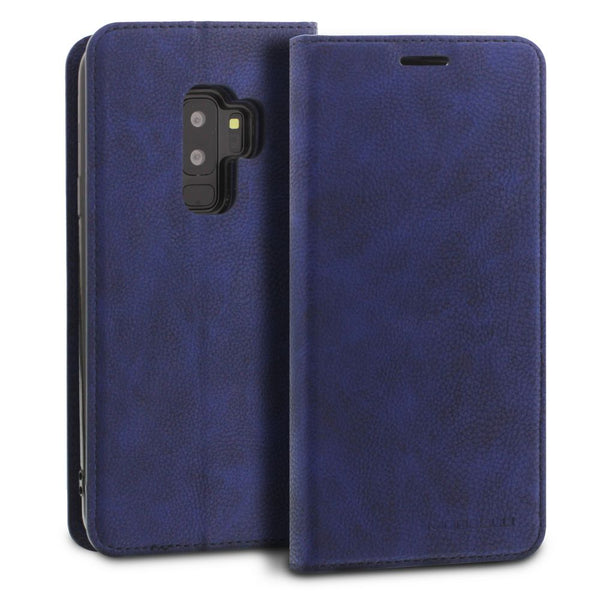 Galaxy S9 Plus Case Magnetic Portfolio Series Wallet - ModeBlu