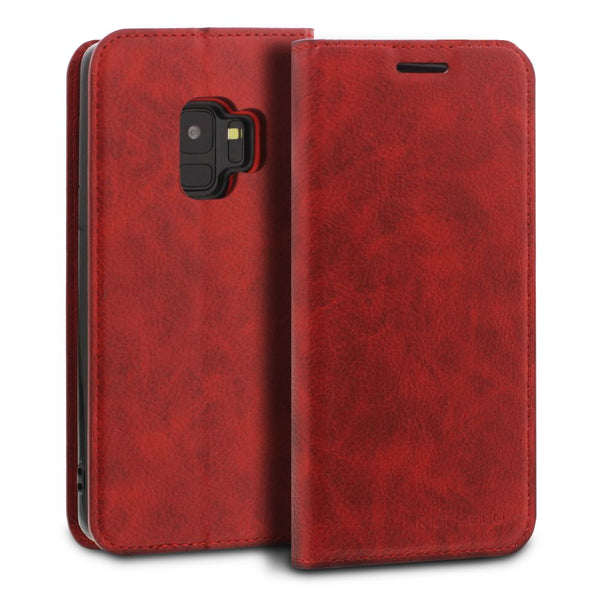 Galaxy S9 Case Magnetic Portfolio Series Wallet - ModeBlu
