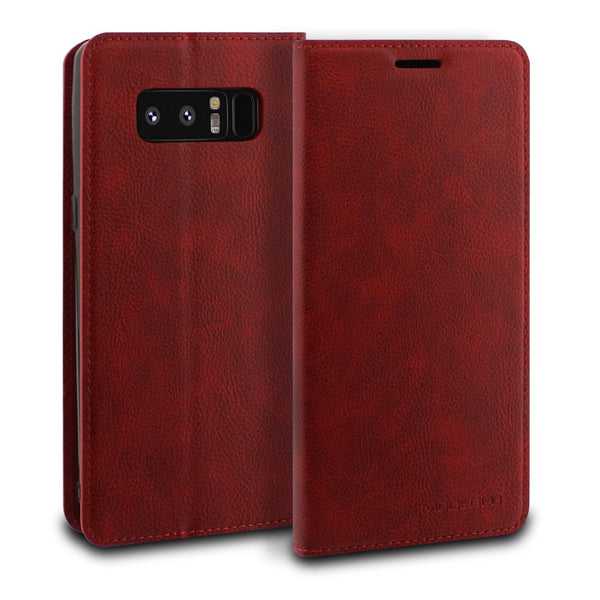 Galaxy Note 8 Case Magnetic Portfolio Series Wallet - ModeBlu